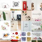 DIY Wall Stickers Removable Art Vinyl Quote Decal Mural Home Room Decor Windows