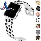 Kolek Floral Bands Compatible With Apple Watch 4-3-2-1  Durable Fadeless Pattern