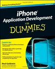 iPhone Application Development For Dummies By Neal Goldstein. 9780470879962