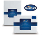 Silentnight Cotton Rich Fitted Bed Sheet - White - Single Double or King Size