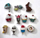 Origami Owl Food and Drink Charms New Retired FREEBIE w 5 NLA HTF Exclusive
