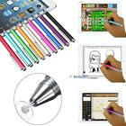 Fine Point Round Thin Capacitive Stylus Pen for iPad 2/3/4/5/Air/Mini/iphone XW