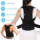 Details about  Therapy Back Lumbar Brace Spine Support Belt Posture Correction