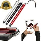 Lot 9 15 30 60x Stylus Pen RED BLACK SILVER 3.5mm Plug for iPad Samsung Tablet