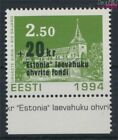 Estonia 242 (complete issue) unmounted mint / never hinged 1994 Estoni (9273289