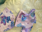 BABY ALIVE DOLL CLOTHES SHORT SET BITTY BABY lavender hearts