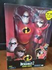 "The Incredibles 2 Power Couple 12"" w/ Mr. Incredible and Elastigirl Action NEW"