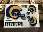 VTG NFL Pro Football WHITE Prismatic Team Helmet Stickers ! RARE $3.0 USD on eBay