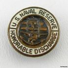 US NAVAL RESERVE - Military Honorable Discharge BUTTON