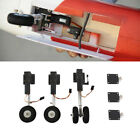 ⟦NEW⟧ Two Wheeled Shocking Proof Retract Landing Gear Set For 3KG RC Airplane