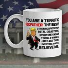 Trump Mug For Godfather, Conservative Gift, Funny Trump White coffee Mugs
