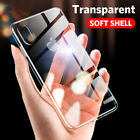 Transparent Shockproof TPU Phone Case for iPone X XR XSMAX 5 6 7 8 Plus Cover