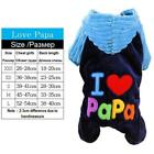 Small Dog Clothes Fleece Halloween Dog Costume Pet Overalls Dog Jumpsuit Clothin