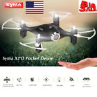 US Seller Syma X204CH Drone RC Quacopter Headless Altitude Hold 3D-flip Toy M9J4