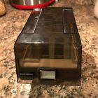 Amaray Mediamate 3.5 Floppy Disk storage case - preowned see flaw