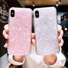 Marble Shockproof Silicone Protective Case Cover For iPhone 8 7 6 Plus XS Max XR