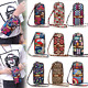 Multi-color Small Cross Body Purse for Womens Shoulder Bag Girls Cell Phone photo