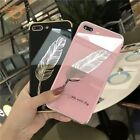 Pink soft cover case for Iiphone X XS Max XR 6s 7 8 Luxury Fashion feathers