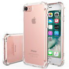 For Apple iPhone 6 Plus Shockproof Clear Silicone Gel Transparent Case Cover New