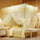 Netting Curtain Mosquito Nets Lace Polyester Folded Insect Repellent Bed Canopy  image