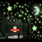 500 Luminous Stars &5 Moons Fantacy Wall Roof Stickers Decal Kids Childn Bedroom