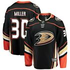Fanatics Branded Ryan Miller Anaheim Ducks Black Breakaway Player Jersey