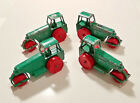 1962 (4) MATCHBOX LESNEY AVELING BARFORD ROAD ROLLERS #1 (GREEN) BLOW OUT SALE!!