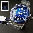 "JAPAN MADE SEIKO SAMURAI PROSPEX SRPC93J1 ""SAVE THE OCEAN"" SPECIAL EDITION, BLUE image"