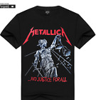 Metallica And Justice For All Black T-Shirt Size S-3XL image