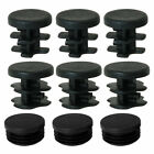 Plastic Round Tube Insert Glide End Cap 36pcs Protect Chair Feet Reduce Noise