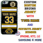 CUSTOMIZE BOSTON BRUINS PHONE CASE COVER NAME &#. FITS iPHONE SAMSUNG LG etc $27.98 USD on eBay