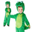 Kids Crocodile Costume Animal Jungle Book Week Day Zoo Boys Fancy Dress Toddlers