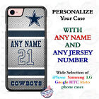 NFL DALLAS COWBOYS FOOTBALL PHONE CASE COVER FOR iPHONE SAMSUNG LG etc Name &No.