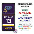 MINNESOTA VIKINGS NFL JERSEY PHONE CASE COVER FOR SAMSUNG iPHONE GOOGLE etc $27.98 USD on eBay