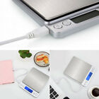 Silver Digital Weighing Kitchen Scale LCD Electronic Glass Cooking Food Postal