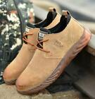 large size mens fashion steel toe covers work safety shoes building site worker