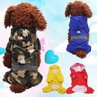 NEW Waterproof Hoody Dog Apparel Raincoat Jacket Pet Cat Puppy Costume Reliable