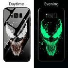 Venom Iron man Batman luminous case Samsung Galaxy S 8,9,10 + Note phone cover