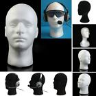 Female Male Mannequin Foam Head Model Headset Glasses Wig Cap Display Stand DEN
