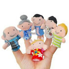 Family Finger Puppets Cloth Doll Baby Educational Hand Cartoon Animal Toy DEN