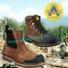 AMBLERS 225 SAFETY DEALER BOOTS or 227 LACE UP SAFETY BOOTS STEEL TOE WORK