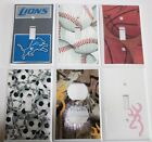 Light Switch Plate Cover ~ SPORTS Theme ~ Kids Room Man Cave Bar Home Decor