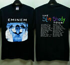 rare hot vintage 1999 Eminem Slim Shady Tour new gildan reprint hot usa size