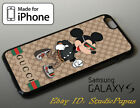 LUXURY iPhone X XS Max XR !19Gucci911MK Mickey Mouse Samsung Galaxy S9 S10 Case