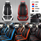 Luxury 6D 5 Seat PU Leather Car Seat Cover Cushion Pad Surround Breathable on eBay