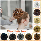 US Womens Girls Messy Hair Scrunchie Natural Easy Bun Hair Piece Up Do Extension