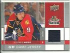 09-10 Upper Deck Hame Used Jersey Stephen Weiss GJ-WE