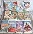 Dinsey LOT of 12 Clamshell VHS: The Aristocats, American Legends, & MORE!