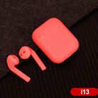 2019 i13 TWS Bluetooth 5.0 Earphone TOUCH Headset Headphone WIRELESS CHARGING