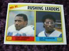 1984 Eric Dickerson Los Angeles Rams ROOKE Topps Leaders Card #204 Hall Of Famer